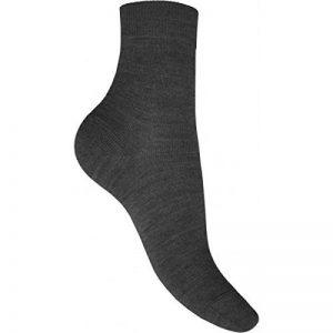 PERRIN chaussettes laine peignée mélangée 420 grise T 39-40 de la marque PERRIN image 0 produit