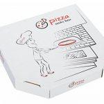 PIZZA SOCKS BOX - Pizza Capriciosa - 4 paires de Chaussettes FANTAISIE Uniques et Originales - CADEAU Drôle en COTON! | pour Fammes et Hommes, Tailles UE: 36-40, 41-46|fabriqué dans l'UE de la marque Rainbow-Socks image 1 produit