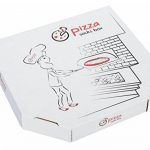 PIZZA SOCKS BOX - Pizza MIX Hawaïenne Italienne et Végétarienne - 4 paires de Chaussettes FANTAISIE Uniques et Originales - CADEAU Drôle en COTON!  pour Fammes et Hommes Made in Europe de la marque Rainbow-Socks image 1 produit