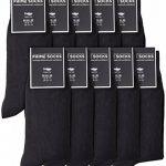 Prime Socks Chaussettes Homme Coton Noir – 10 paires – de de la marque Prime-Socks image 0 produit