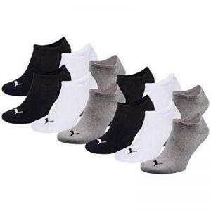 Puma Unisexe Sneakers Chaussettes Chaussettes de sport, 6paires de la marque Puma image 0 produit