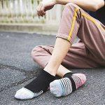 PUTUO Chaussette Basse pour Homme Socquettes de Sport, Protège-pieds Homme Chaussettes Invisibles Coton, 5/6 paires de la marque PUTUO image 1 produit