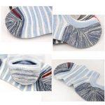 PUTUO Chaussettes Basses Homme Chaussettes Invisibles en Coton avec Silicone, Protège-Pieds Homme Socquettes Chaussettes de Sport, 5 paires de la marque PUTUO image 3 produit