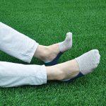 PUTUO Chaussettes Basses Homme Socquettes de Sport en Coton, Protège-Pied Homme Chaussettes Invisibles Antiglisse, 5 paires de la marque PUTUO image 4 produit