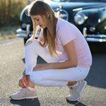 Rainbow Socks 12 paires de chaussettes courtes, noires ou blanches, fabriquées en Europe, de coton, beaucoup de tailles 36-46, la plus haute qualité, femmes et hommes by de la marque Rainbow-Socks image 3 produit