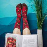 Rainbow Socks, 2 paires de chaussettes de pot en forme de fraises et myrtilles, bonnes chaussettes, idéales pour un cadeau, faites dans l'UE de la haute qualité de coton. Super cadeau! de la marque Rainbow-Socks image 3 produit