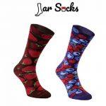 Rainbow Socks, 2 paires de chaussettes de pot en forme de fraises et myrtilles, bonnes chaussettes, idéales pour un cadeau, faites dans l'UE de la haute qualité de coton. Super cadeau! de la marque Rainbow-Socks image 1 produit