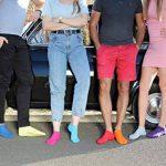 Rainbow Socks 6, 9 ou 12 paires de chaussettes courtes de 12 couleurs faites dans l'UE, le coton de haute qualité certifié Oeko-Tex, plusieurs tailles: 36, 37, 38, 39, 40, 41, 42, 43, 44, 45, 46 by de la marque Rainbow-Socks image 3 produit