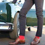Rainbow Socks 6, 9 ou 12 paires de Chaussettes de Coton de 12 couleurs faites dans l'UE, le coton de haute qualité certifié Oeko-Tex, plusieurs tailles: 36, 37, 38, 39, 40, 41, 42, 43, 44, 45, 46 by de la marque Rainbow-Socks image 3 produit