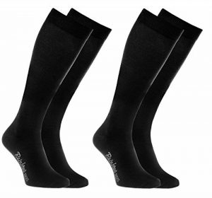 Rainbow Socks Chaussettes HAUTES Colorées by le COTON Peigné, Chaussettes LONGUES Modernes pour Tous les Jours, Confortables et Délicates   pour les Femmes et Hommes, Fabriquées en EUROPE de la marque Rainbow-Socks image 0 produit