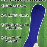 ROLY Homme et Garcon 1 Paire Chaussettes Hautes Longues de Sport pour Football Soccer de la marque ROLY image 4 produit