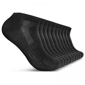 ROYALZ Chaussettes de sport 10 paires de chaussettes pour hommes et femmes courtes pack 10 chaussettes respirantes légères et confortables de la marque ROYALZ image 0 produit