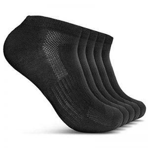 ROYALZ Chaussettes de sport 5 paires de chaussettes sneakers pour hommes et femmes courtes pack 5 respirantes légères et confortables de la marque ROYALZ image 0 produit