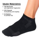ROYALZ Chaussettes de sport 5 paires de chaussettes sneakers pour hommes et femmes courtes pack 5 respirantes légères et confortables de la marque ROYALZ image 2 produit