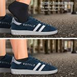 ROYALZ Chaussettes de sport 5 paires pour hommes et femmes Chaussettes sneaker Oeko-Tex Chaussettes courtes 5 pièces Pack de la marque ROYALZ image 3 produit