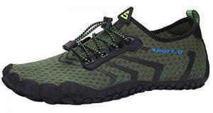 SAGUARO Chaussures pour Sport Aquatique avec Semelle Épaisse - Mixte de la marque SAGUARO image 0 produit