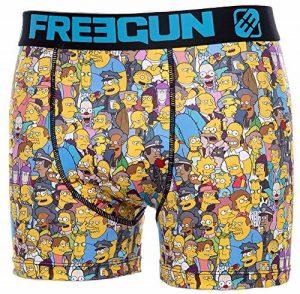 Simpsons Boxer Microfibre Collection Officielle Freegun - Taille Adulte Homme de la marque Simpsons image 0 produit