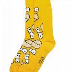 Simpsons Y1h173The–Homer Chaussettes pour Homme (Taille 6–11, Lot de 2) de la marque Simpsons image 3 produit