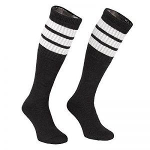 Skater Socks 25inch Tube chaussettes chaussettes Oldschool Chaussettes de sport Overknee Noir de la marque Skatersocks image 0 produit
