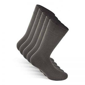 SNOCKS business socks - Chaussettes business hommes et femmes (5 paires) Pointure 39 à 50, couleurs: noir, bleu, marron, gris – coton. de la marque SNOCKS image 0 produit