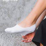 Snocks invisible socks - Socquettes courtes hommes et femmes – Protège-pieds invisibles (6 paires). Pointure 35 à 50 Couleur: noir, blanc, gris, bleu, rose – Protège-pieds coton de la marque Snocks image 2 produit