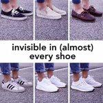 Snocks invisible socks - Socquettes courtes hommes et femmes – Protège-pieds invisibles (6 paires). Pointure 35 à 50 Couleur: noir, blanc, gris, bleu, rose – Protège-pieds coton de la marque Snocks image 4 produit