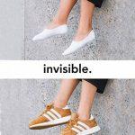 Snocks invisible socks - Socquettes courtes hommes et femmes – Protège-pieds invisibles (6 paires). Pointure 35 à 50 Couleur: noir, blanc, gris, bleu, rose – Protège-pieds coton de la marque Snocks image 1 produit