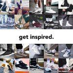 Snocks retro socks - Chaussettes sport homme et femme (4 paires) – Pointure 35 à 50 Couleur: noir, blanc, gris Chaussettes hautes retro rayures – Chaussettes tennis – Coton de la marque Snocks image 3 produit