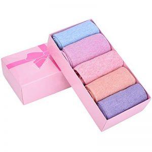 Soumit Chaussettes Orteils Séparés en Coton pour Femmes (EU 36-40), Chaussettes Respirants avec 5 Doigts de Pieds Séparés, Antidérapant et Suer-absorbant, 5 paires de la marque Soumit image 0 produit