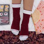 Sushi Socks Box - 2 paires de Sushi CHAUSSETTES en Coton: Thon Saumon Nigiri - CADEAU CRÉATIF pour Fammes et Hommes, Tailles UE: 36-40, 41-46| Bonne qualité - Certifié OEKO-TEX, made in UE de la marque Sushi-Socks-Box image 4 produit