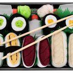 SUSHI SOCKS BOX - 5 paires de Sushi CHAUSSETTES en Coton: Tamago Butterfish Thon Nigiri Concombre Oshinko Maki - CADEAU CRÉATIF, Tailles UE: 36-40, 41-46| Bonne qualité - Certifié OEKO-TEX, made in UE de la marque Sushi-Socks-Box image 1 produit