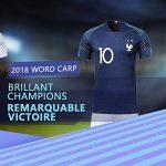 SUXMAN Maillots de Football Hommes Enfants T-Shirt 2 Étoiles Football 2018 Coupe du Monde France Vêtements de Football Champion avec Chaussettes et Accessoires (24) de la marque SUXMAN image 1 produit