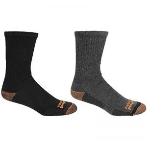 Timberland Mens Crew Polyester Blend Lightweight Socks de la marque Timberland image 0 produit