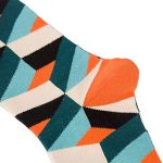 TRIWORIAE - Pack de 5 Paires de Chaussettes Colorées Fantaisie pour Hommes Coton Peigné 41-46EU de la marque TRIWORIAE image 4 produit