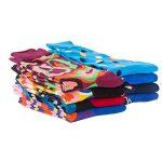 TRIWORIAE - Pack de Chaussettes Colorées Fantaisie Hommes Coton Peigné 41-46EU de la marque TRIWORIAE image 2 produit