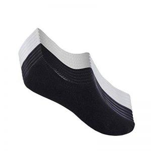 TUUHAW Chaussettes Basses pour Femmes Hommes 10 Paires Socquettes de Sport en Coton Antiglisse des Décontractées de la marque TUUHAW image 0 produit