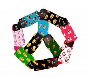 TwoSocks chaussettes drôles pour hommes et femmes, chaussettes amusantes en cadeau, coton, taille unique de la marque TwoSocks image 0 produit