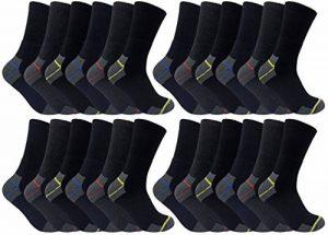 Ultimate Work Socks 3, 6, 12, 24 Paires Chaussettes Travail Lot Hommes Coton 39-45 eur de la marque Ultimate-Work-Socks image 0 produit