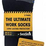 Ultimate Work Socks 3, 6, 12, 24 Paires Chaussettes Travail Lot Hommes Coton 39-45 eur de la marque Ultimate-Work-Socks image 1 produit