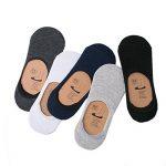 UMIPUBO 10 ou 6 Paires Chaussettes Hommes Invisibles Courtes Sneaker Chaussettes de Coton Anti-Dérapant Sport Comfort de la marque UMIPUBO image 1 produit