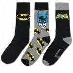 Unisex-Adulte - Official - Batman - Chaussettes - Plusieurs Paquets de la marque Official image 2 produit