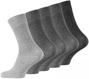 VCA Lot de 10 paires de chaussettes classiques pour l'homme d'affaires. Avec une teneur élevée en coton. Homme de la marque VCA image 0 produit