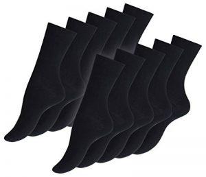 VCA Lot de 10 paires de chaussettes pour dames, 100% coton. Dentelle cousu main. Origine de de la marque VCA image 0 produit