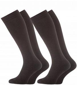 VCA Lot de 2 paires de chaussettes/mi-bas - effet de contention de la marque VCA image 0 produit