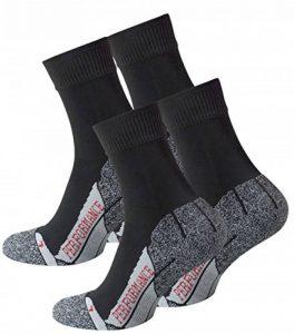 VCA Lot de 2 paires de chaussettes multifonctionnels, PERFORMANCE Haute technologie rembourrage spécial, chaussettes de randonnée, UNISEX de la marque VCA image 0 produit