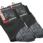 VCA Lot de 2 paires de chaussettes multifonctionnels, PERFORMANCE Haute technologie rembourrage spécial, chaussettes de randonnée, UNISEX de la marque VCA image 3 produit