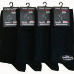 VCA Lot de 8 paires de chaussettes classiques - 80% coton - sans élastique - homme - noir de la marque VCA image 2 produit