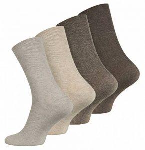 VCA Lot de 8 paires de chaussettes sans élastique - coton - pointe remaillée main - diabétique de la marque VCA image 0 produit