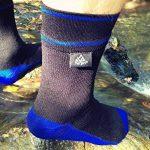 VER JARI Chaussettes étanches Verjari | Intérieur en Coolmax | Noir et Bleu de la marque VER-JARI image 1 produit