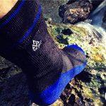 VER JARI Chaussettes étanches Verjari | Intérieur en Coolmax | Noir et Bleu de la marque VER-JARI image 2 produit